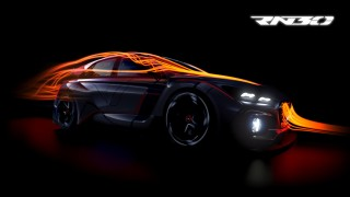 Teaser for Hyundai RN30 concept debuting at 2016 Paris auto show