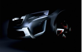 Teaser for Subaru XV concept debuting at 2016 Geneva Motor Show