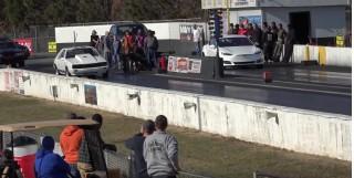 Tesla Model S P100D blasts to 60 in under 2.39 seconds