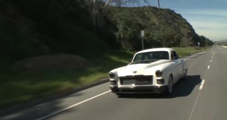 The Ringbrothers bring their Madam V Cadillac to Jay Leno's Garage
