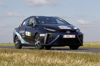Toyota Mirai wins 2016 e-Rally Monte Carlo