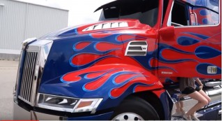 Video takes us up close to Transformers 5 vehicles