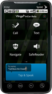 Vlingo InCar Lets Android Users Text, Talk Completely Hands-Free