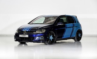 VW reveals GTI hybrid concept with rear-axle electric motor