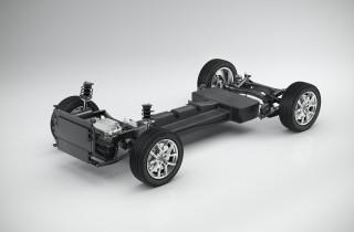Volvo CMA modular compact car platform