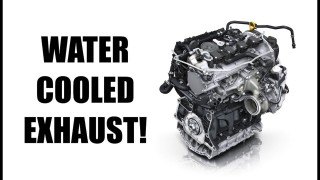 Why does Volkswagen have a water-cooled exhaust?