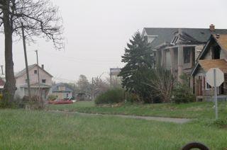 Z World Detroit - abandoned houses