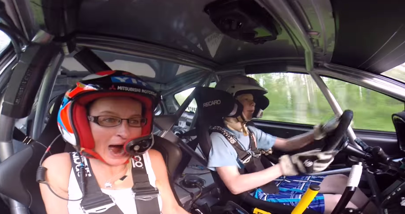 Year Old Rally Driver Kalle Rovanpera Scares His Passenger With Speed H