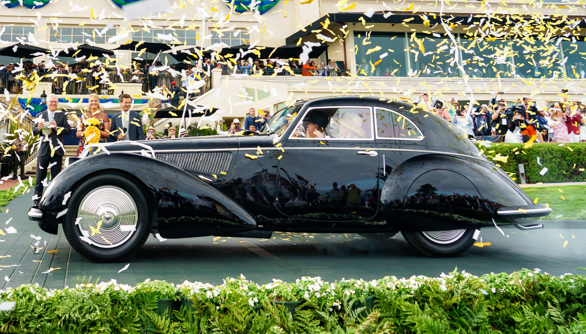 "2020 Pebble Beach Best Of Show 1937 Alfa Romeo 8C voted ""Best of Show"" at 2018 Pebble Beach Concours"