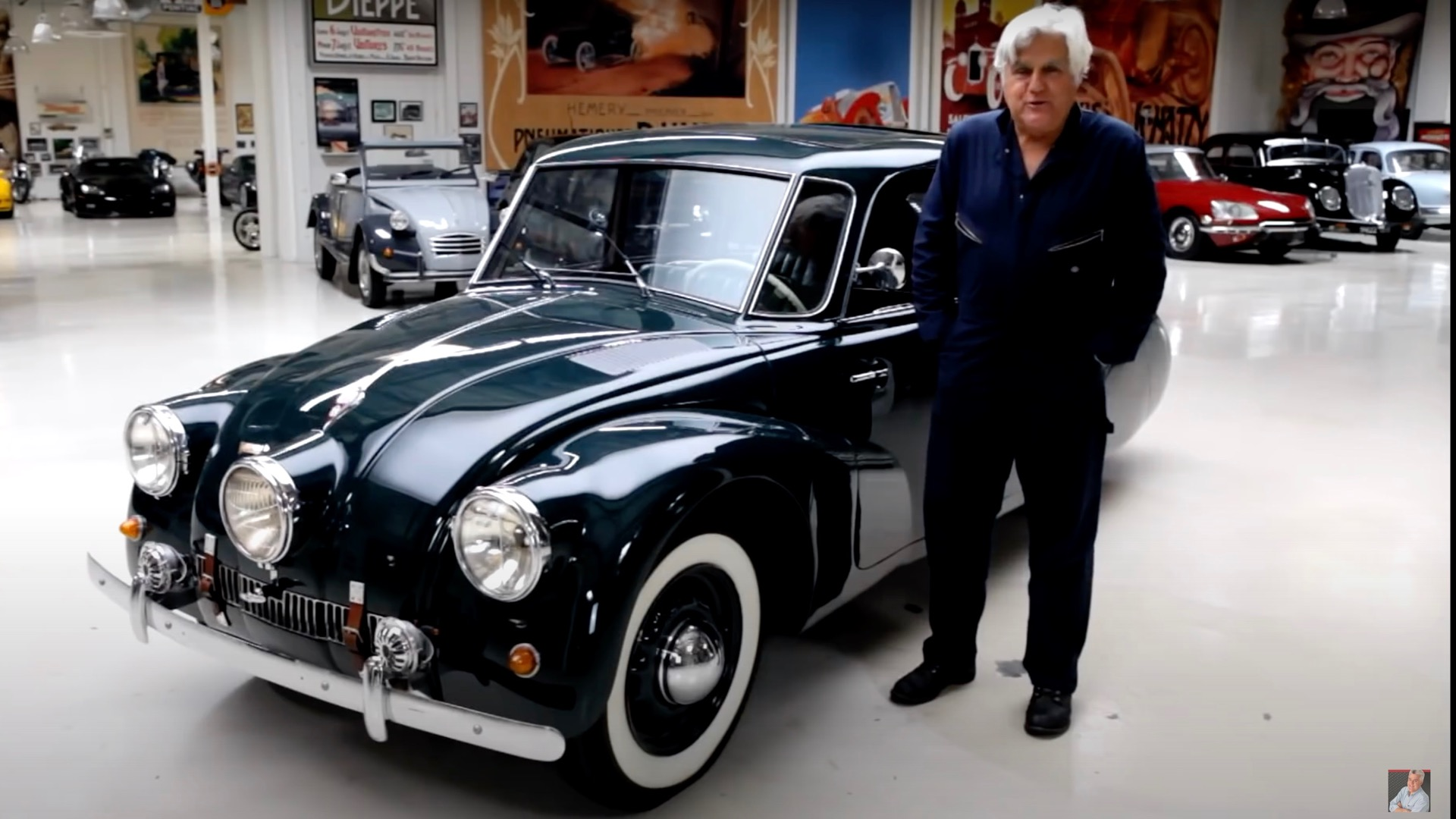 """""""Jay Leno's Garage"""" features a 1938 Tatra T87 that became a World War II hero"""