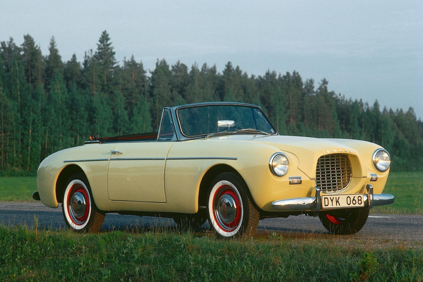 Volvo Celebrates 60th Anniversary Of Its First Sports Car, The Sport P1900