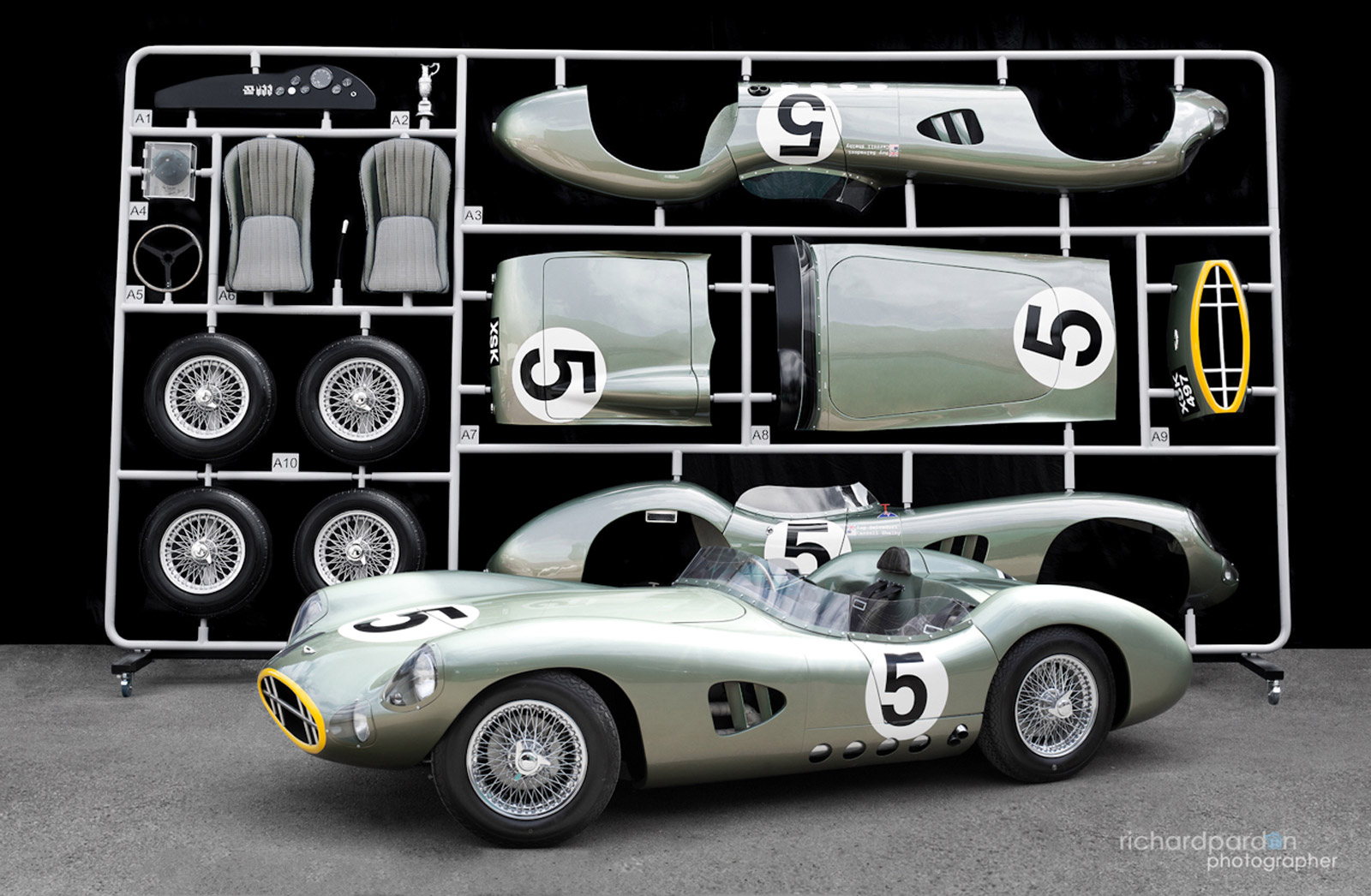 Le Mans Winning Aston Martin Dbr1 Imagined As Life Sized Model