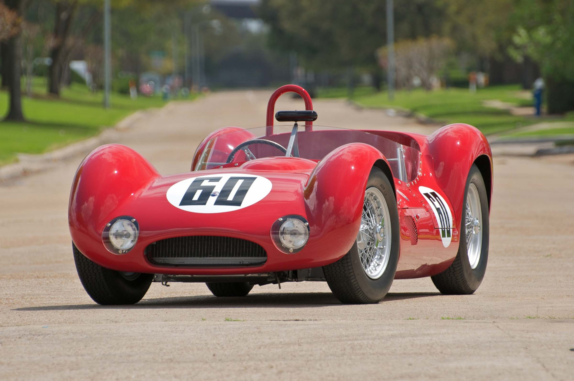 Mecum To Auction 1960 Maserati Birdcage