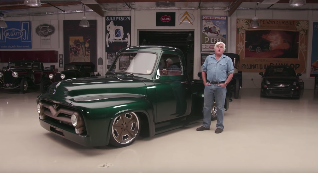 Classic car studio shares its 1953 ford f100 with jay leno for Garage ford st maximin