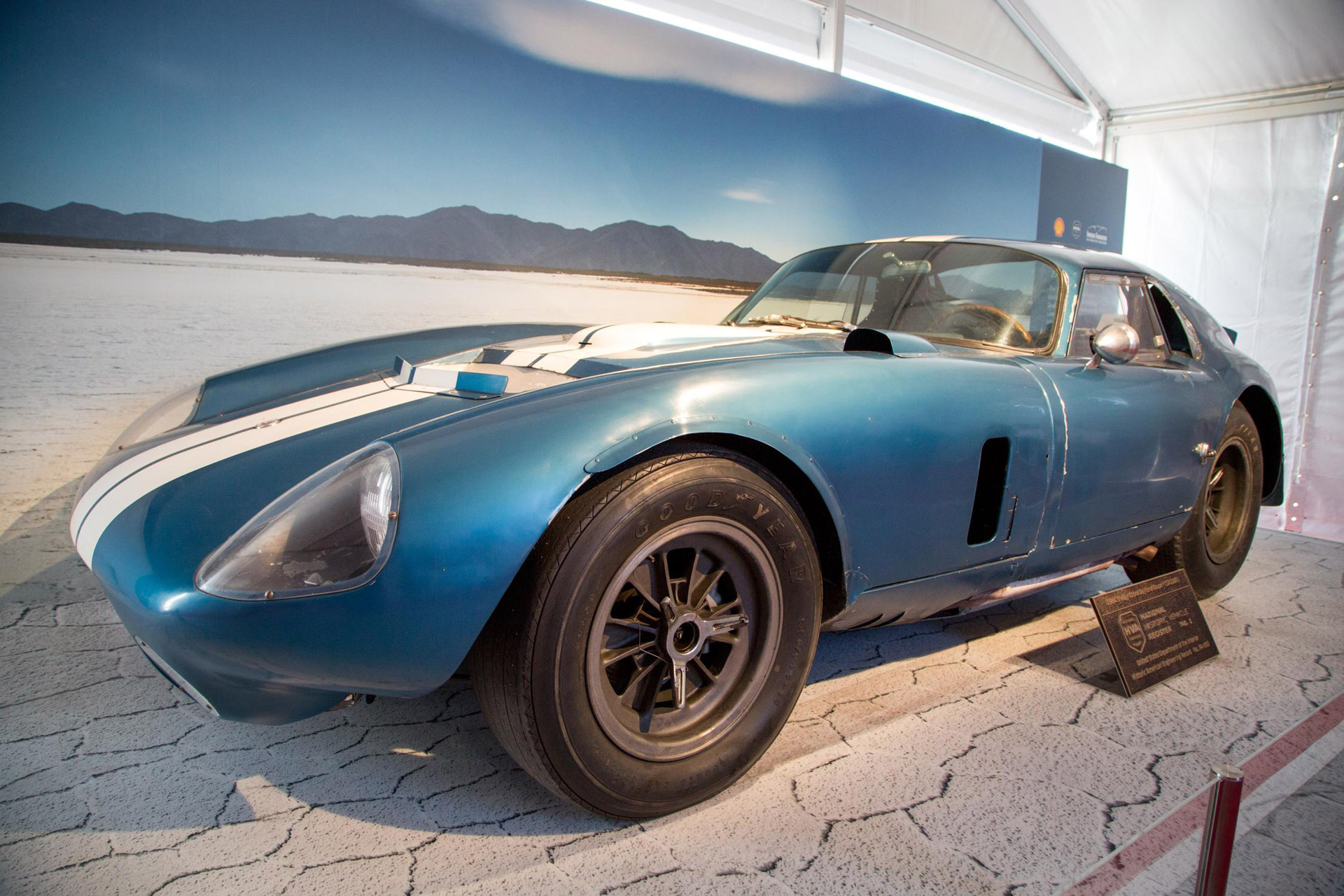First Shelby Daytona Coupe, Chassis #CSX2287, Rolls Into ...