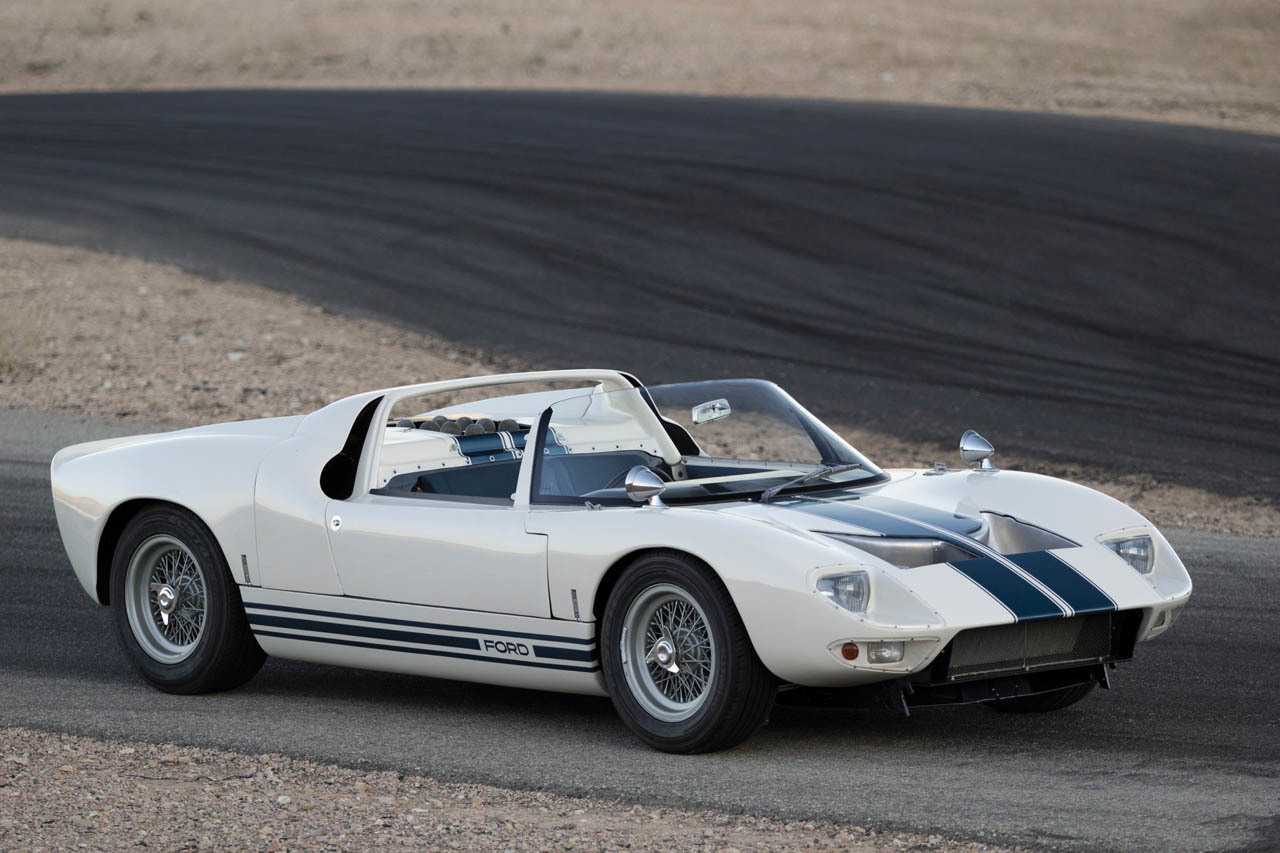 1965 Ford GT40 Roadster Prototype In Detail: Video