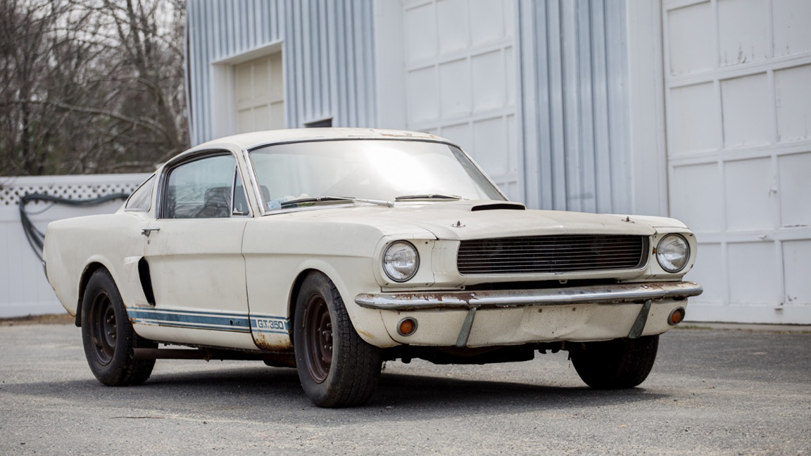 rare muscle cars found
