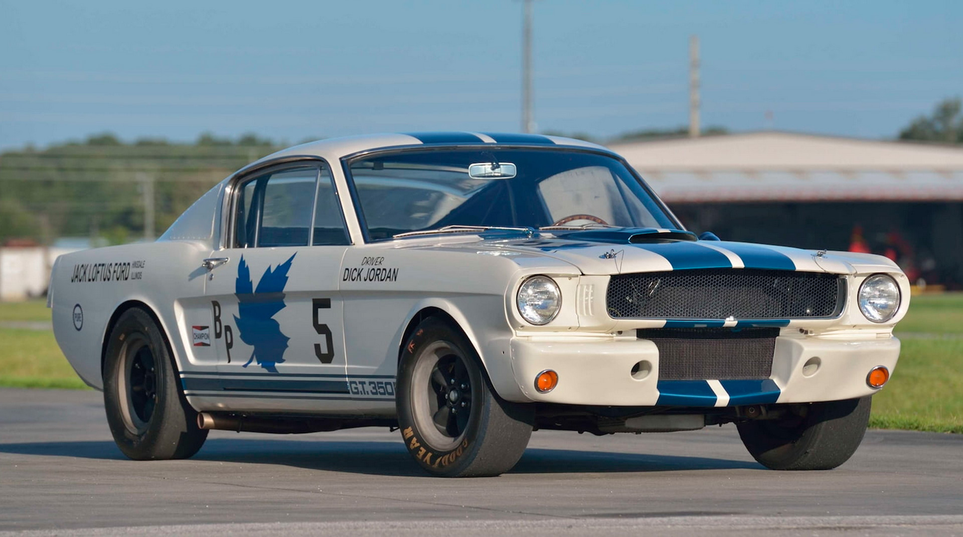 Original 1965 Ford Shelby GT350R heads to auction
