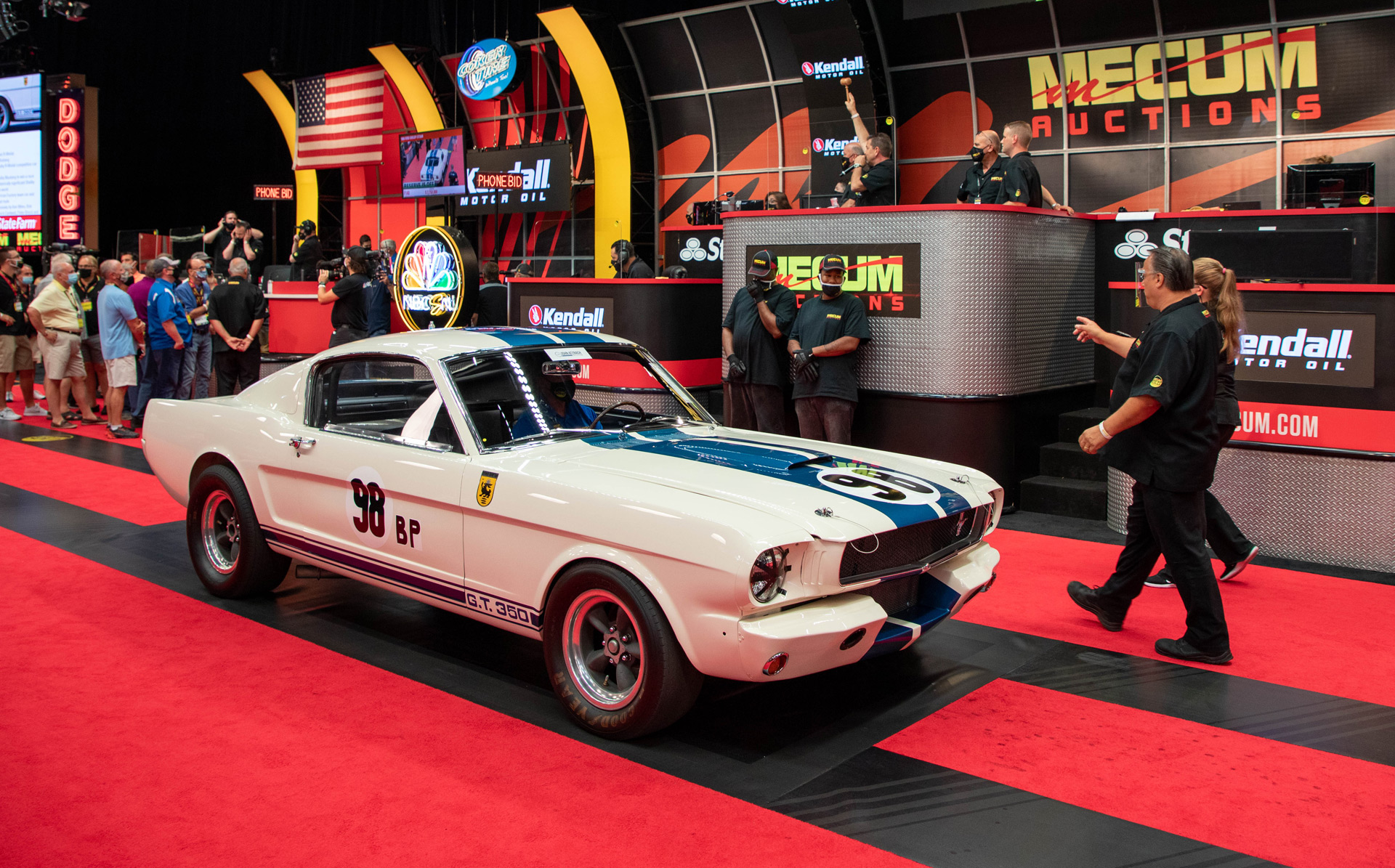 1965 Ford Shelby GT350 Competition with chassis no. 5R002 at Mecum action - July 17, 2020