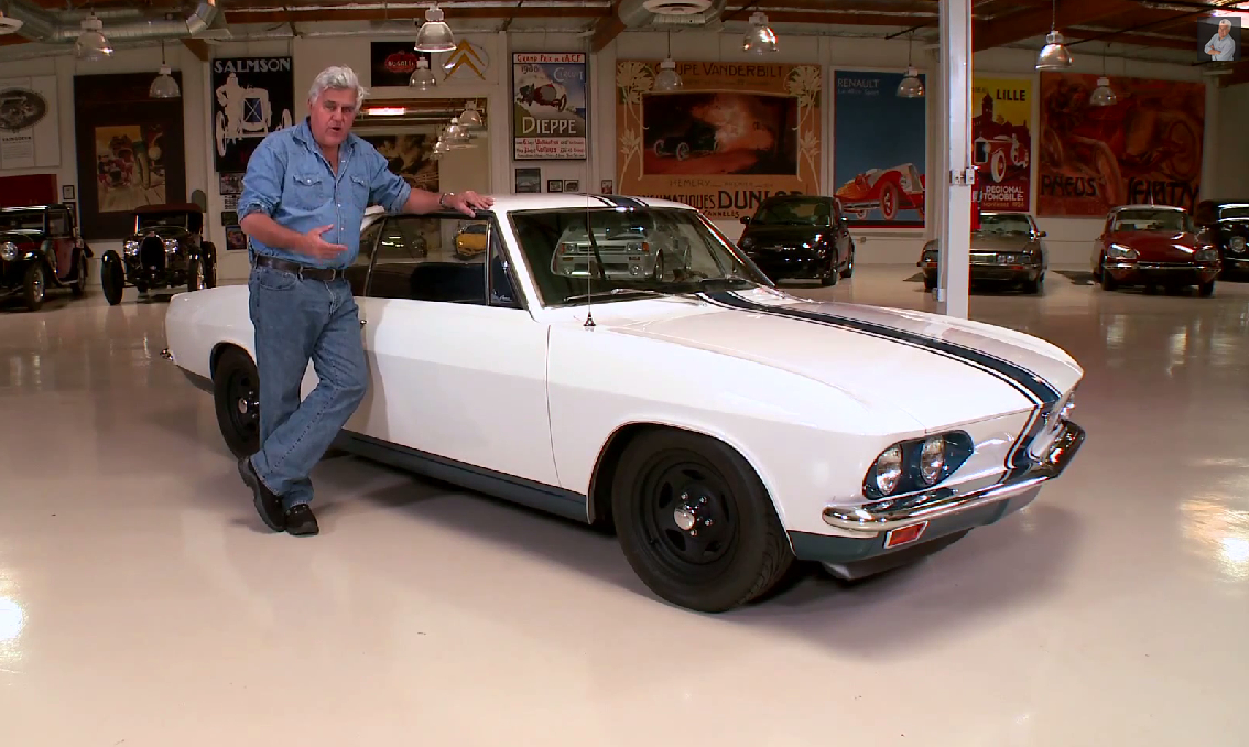 Jay Leno Electric Car