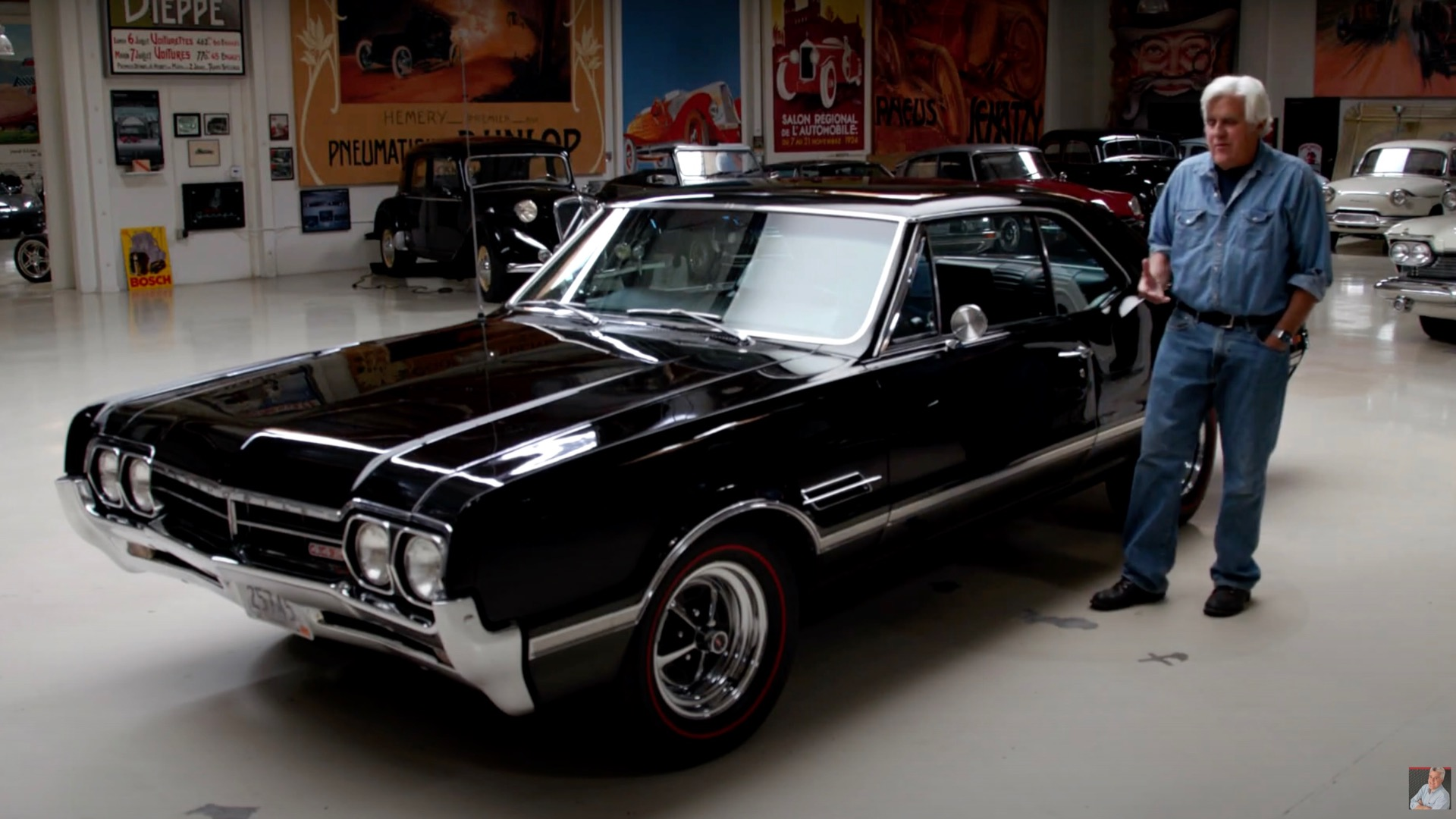 Well-preserved 1966 Oldsmobile 442 rumbles into Jay Leno's Garage