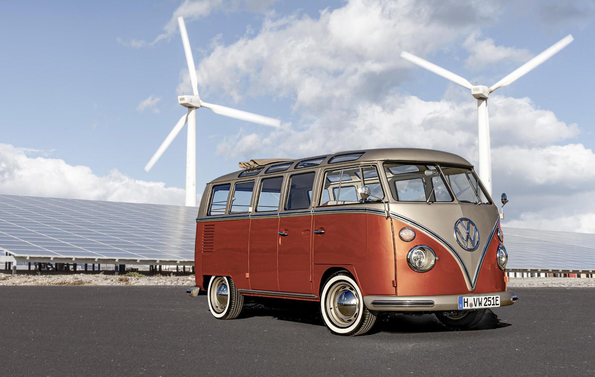 Original Vw Microbus Gets Ev Conversion From Eclassics