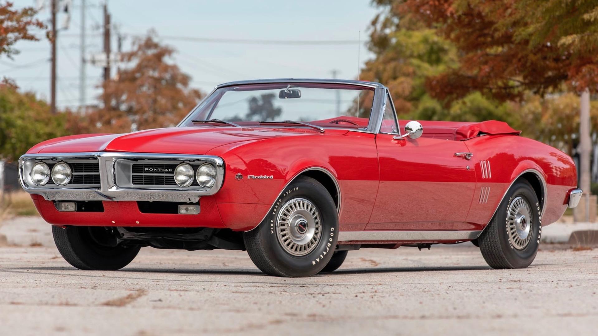 First Pontiac Firebird ever built heads to auction