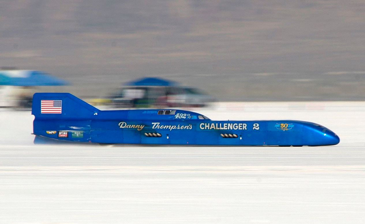 1968 Challenger 2 Streamliner land speed record car heads to auction