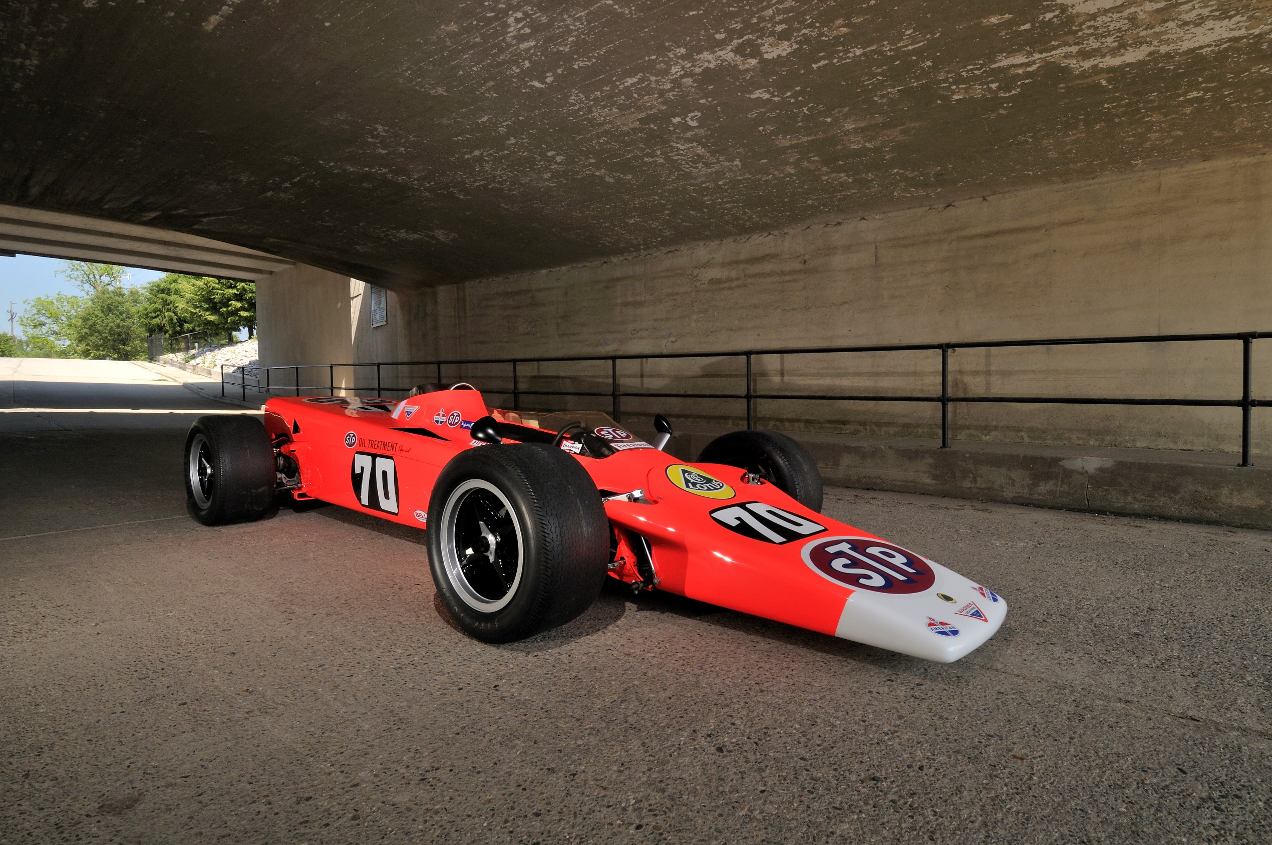 Lotus Type 56 Turbine Indy Car Going To Auction In Monterey