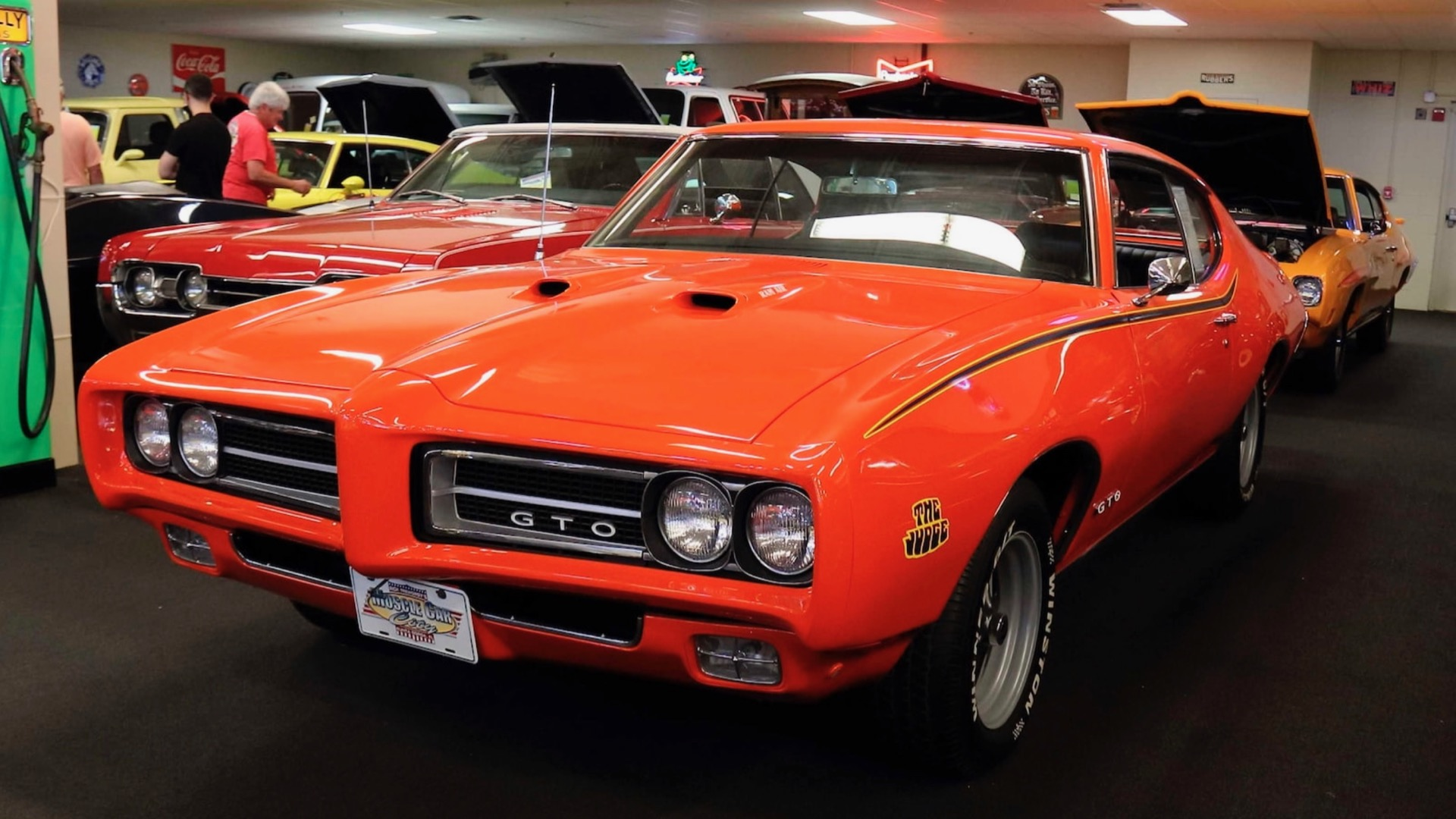 Massive muscle car collection from Florida museum heads to auction—without reserve