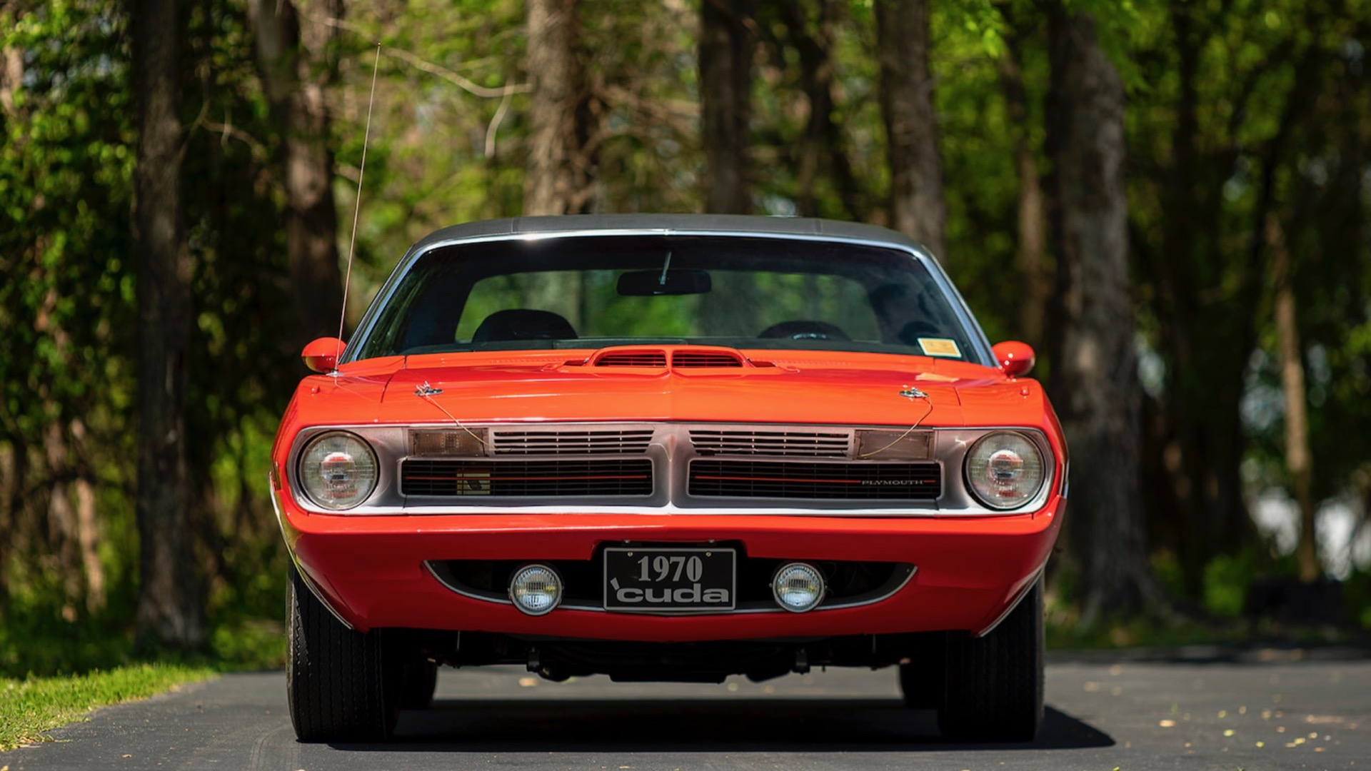 The 1970 Plymouth Cuda is up for auction