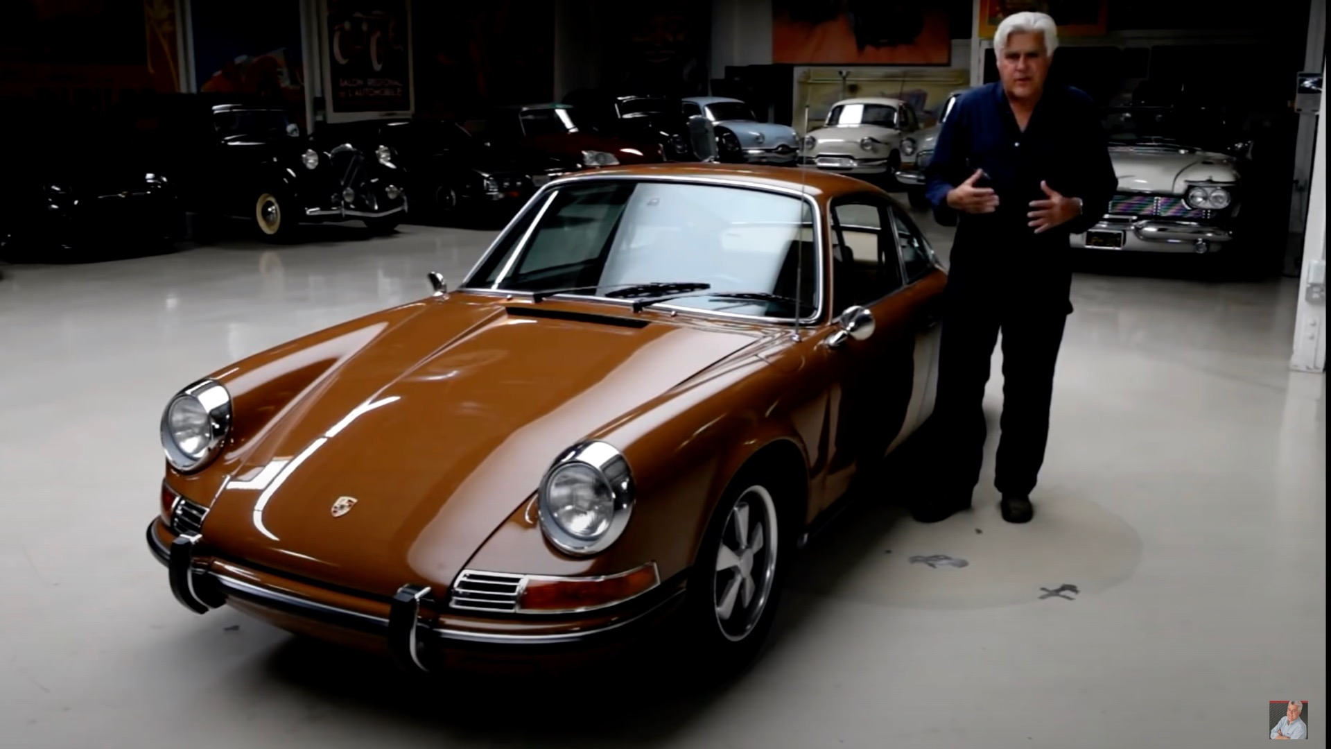 Jay Leno shows us his 1971 Porsche 911 T