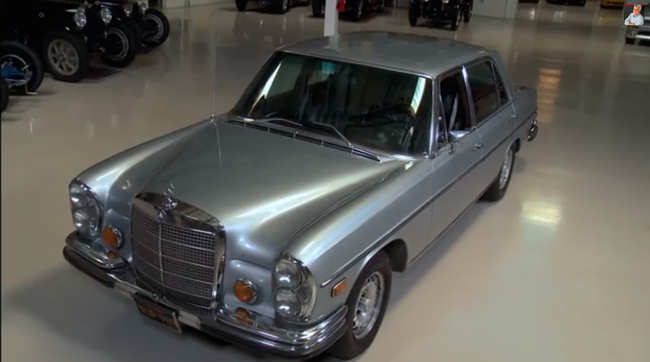 jay leno 39 s 1972 mercedes benz 300 sel 6 3 fans 39 choice. Black Bedroom Furniture Sets. Home Design Ideas