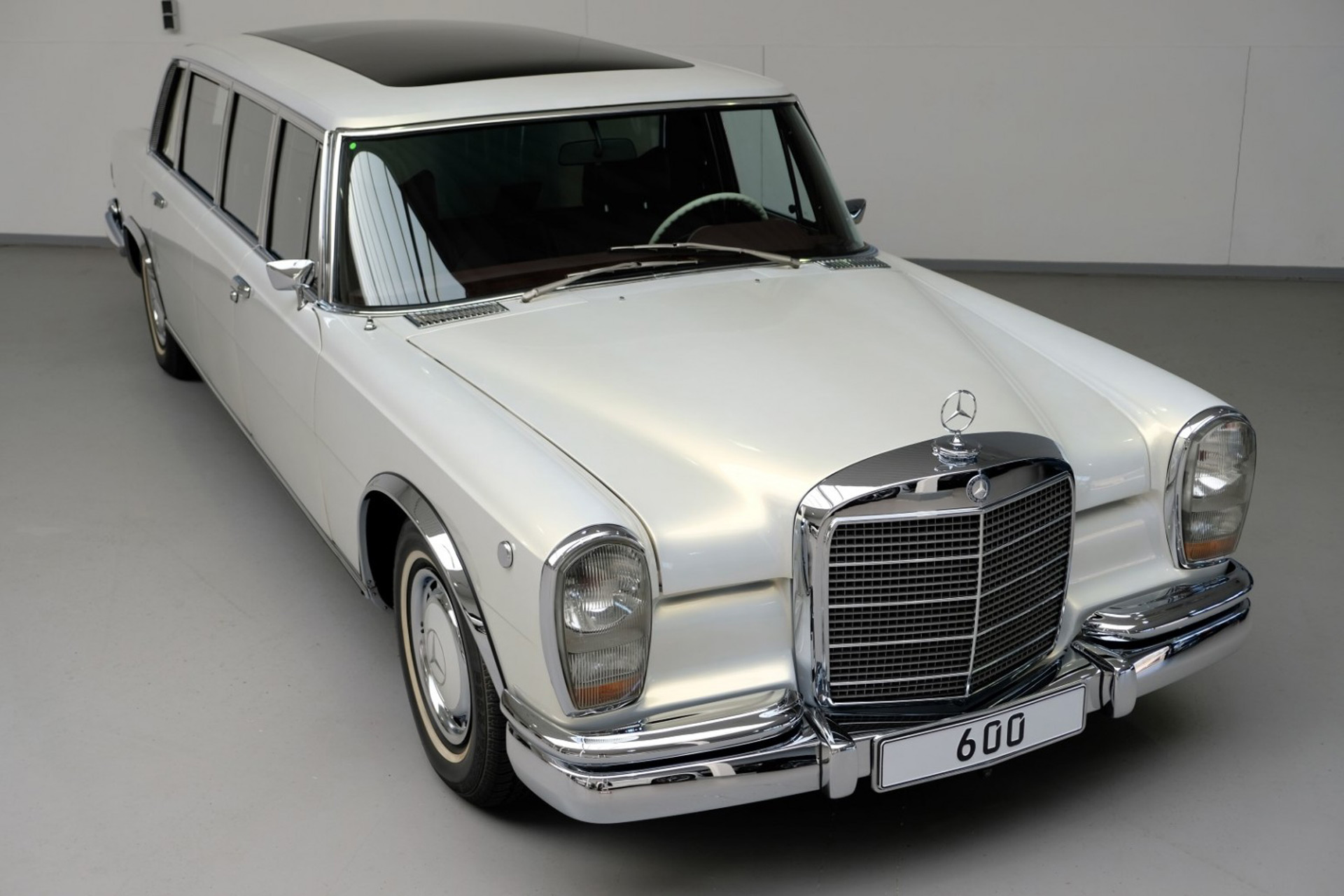 Someone Gave A 1975 Mercedes Benz 600 Pullman A Maybach Makeover