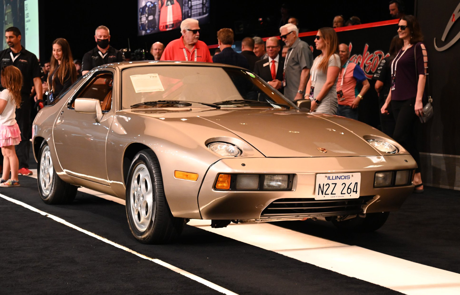 """Porsche 928 from """"Risky Business"""" sells for almost $2M at auction"""