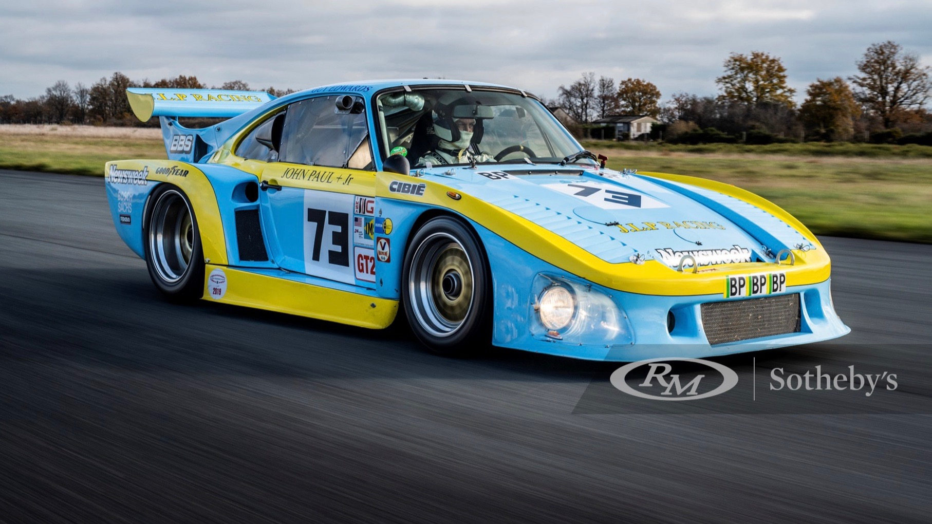 1980 Porsche 935 JLP-2 that raced at Le Mans up for sale for $2.1M