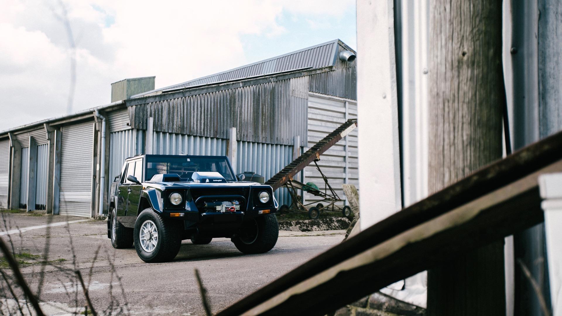 11-month restoration makes 1987 Lamborghini LM002 better than new