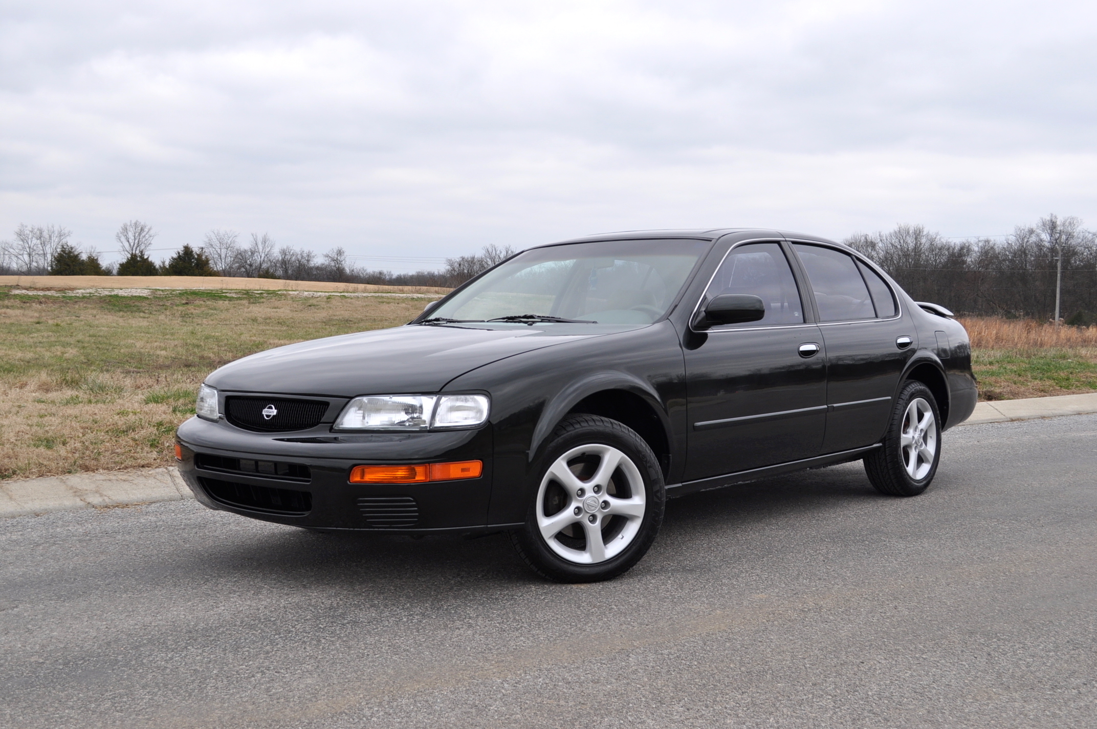 Nissan restored luke akers 1996 nissan maxima then we drove it