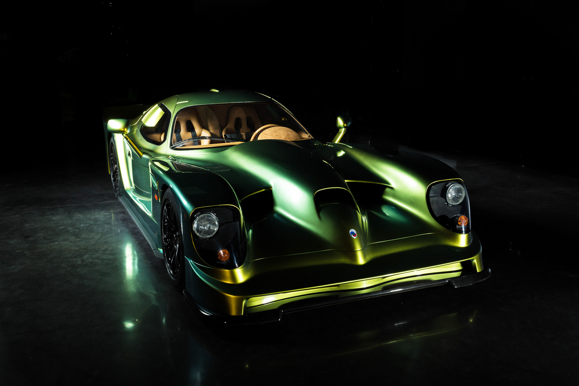Panoz Rolls Out Restored Road-Going Esperante GTR-1 At ...