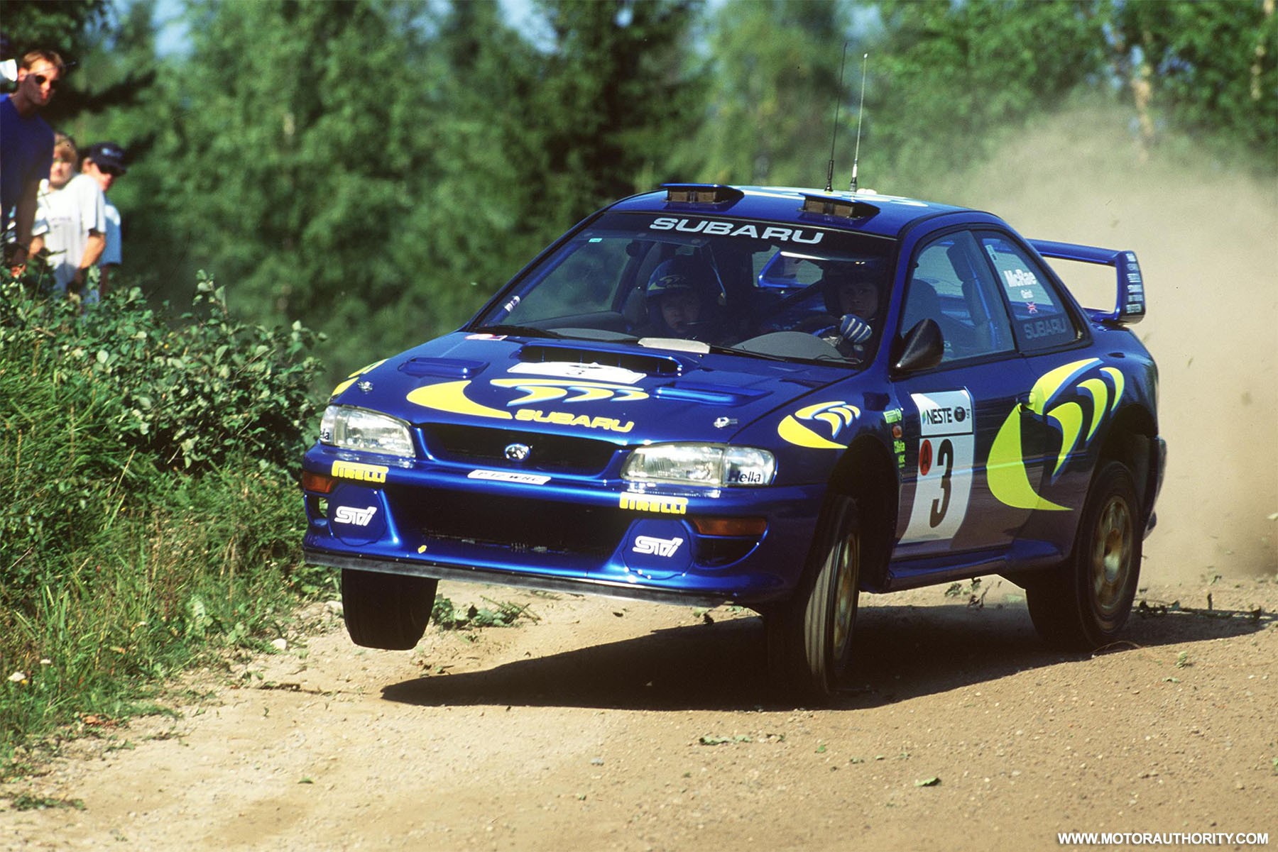 Subaru\'s first WRC rally car for sale by Prodrive