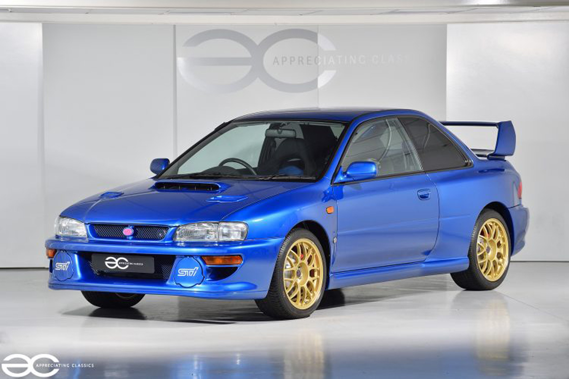 1998 Subaru Impreza 22B STI with close to delivery miles ...