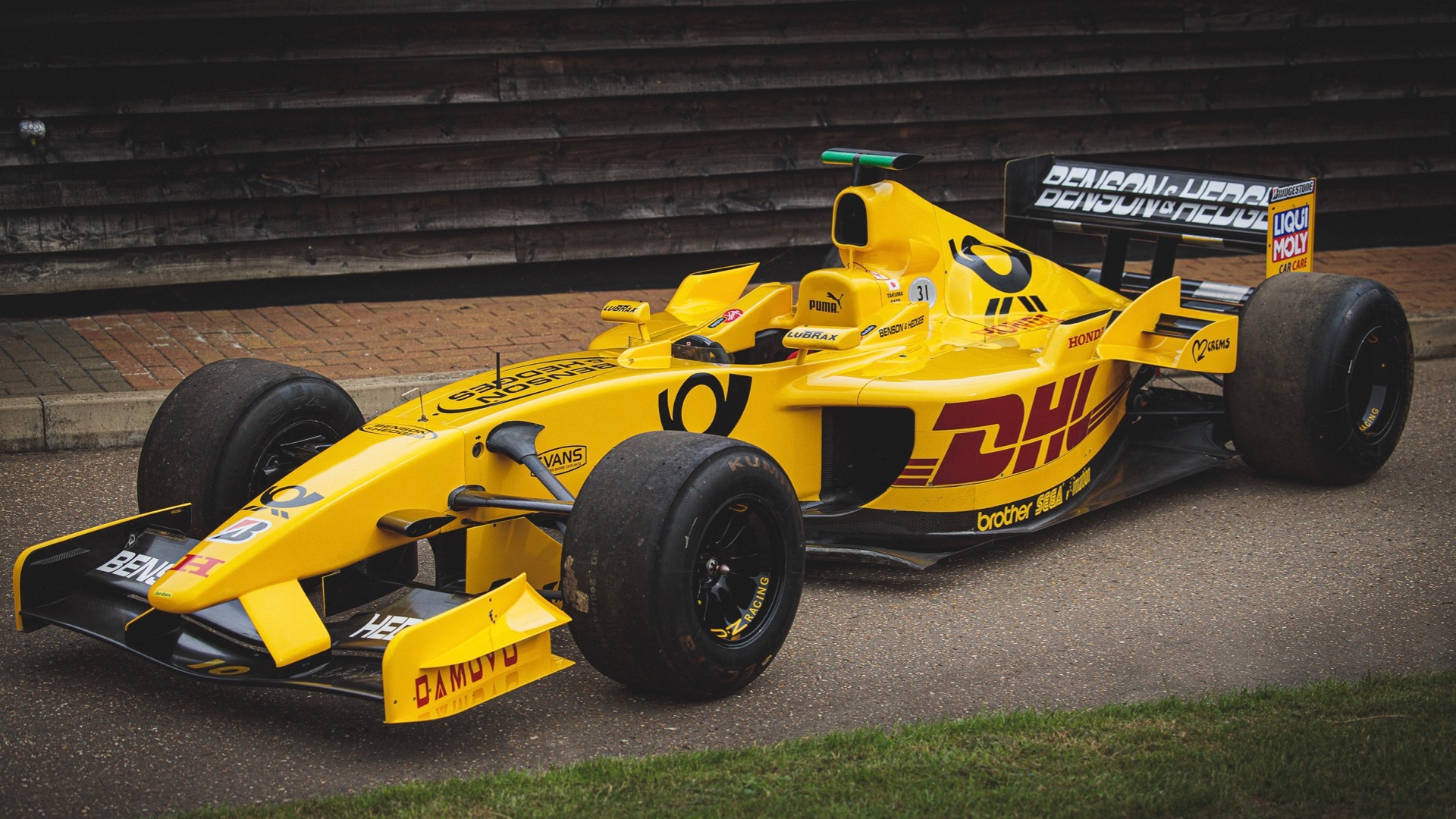 Driveable F1 car raced by Takuma Sato up for auction