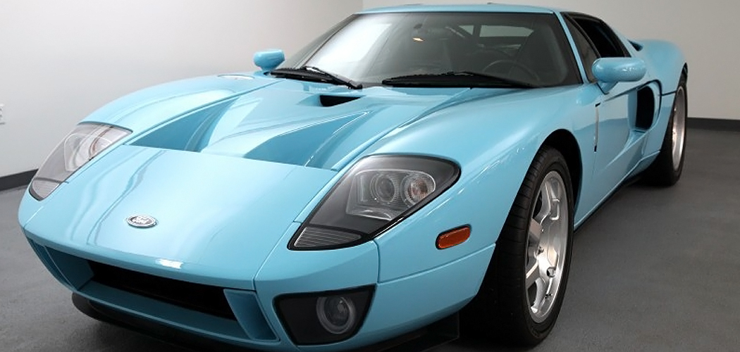 2005 ford gt prototype pb1 3 for sale priced at just 400 000. Black Bedroom Furniture Sets. Home Design Ideas