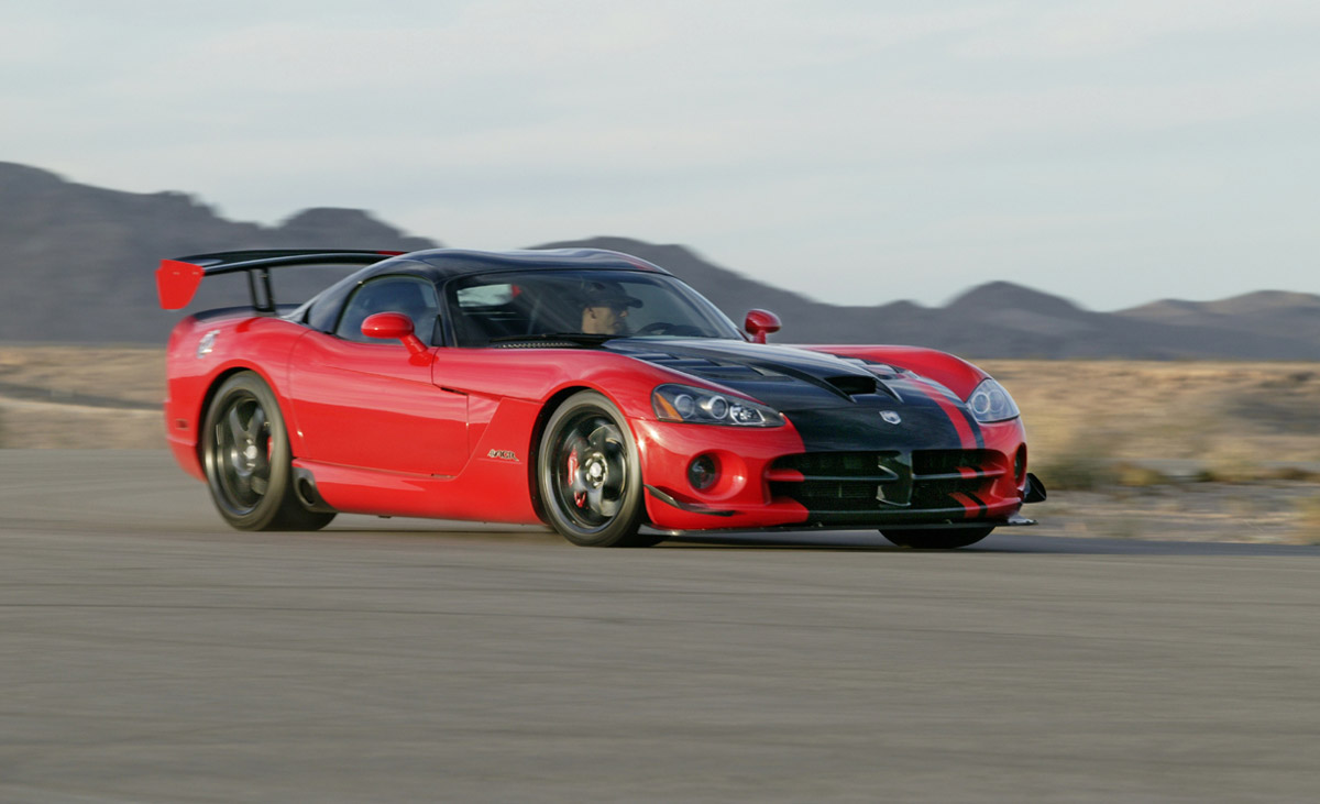 Chrysler Dodge Viper Acr Sold Out