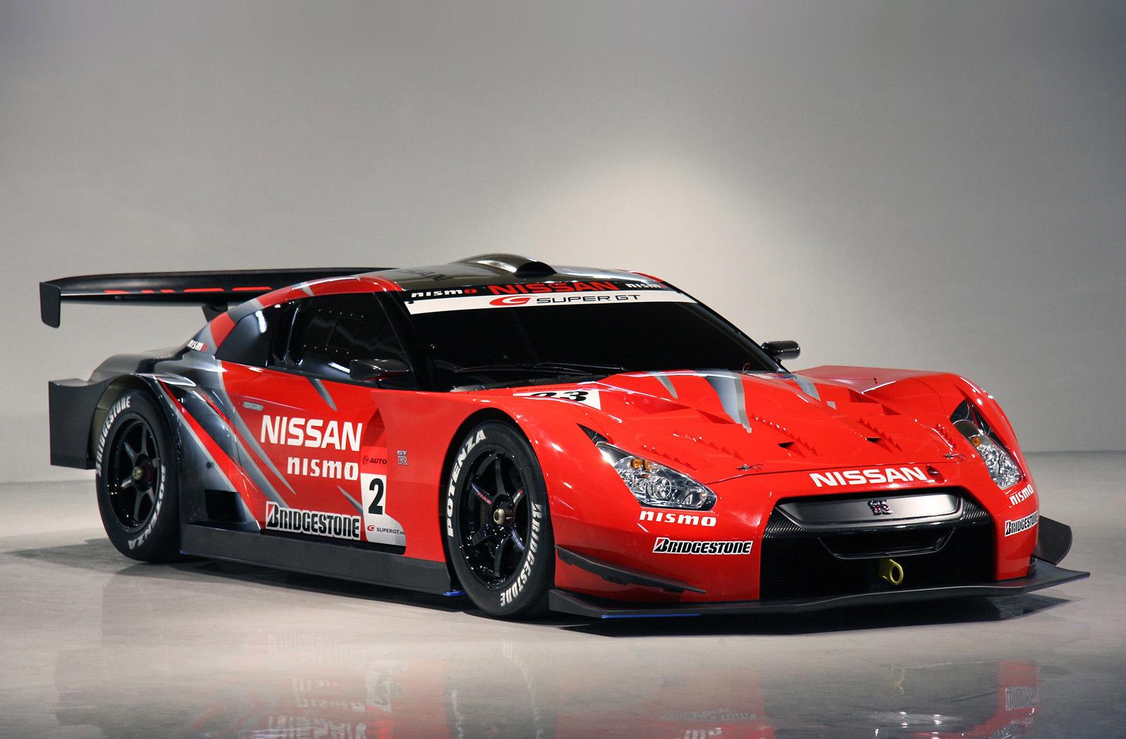 Nissan GT-R GT500 In Full Race Livery