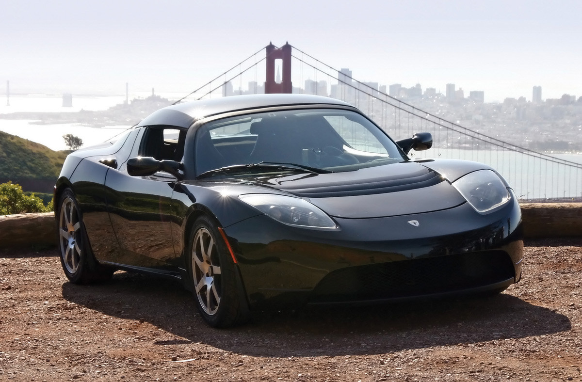 Want A Tesla Roadster? Buy George Clooney\'s Old Car