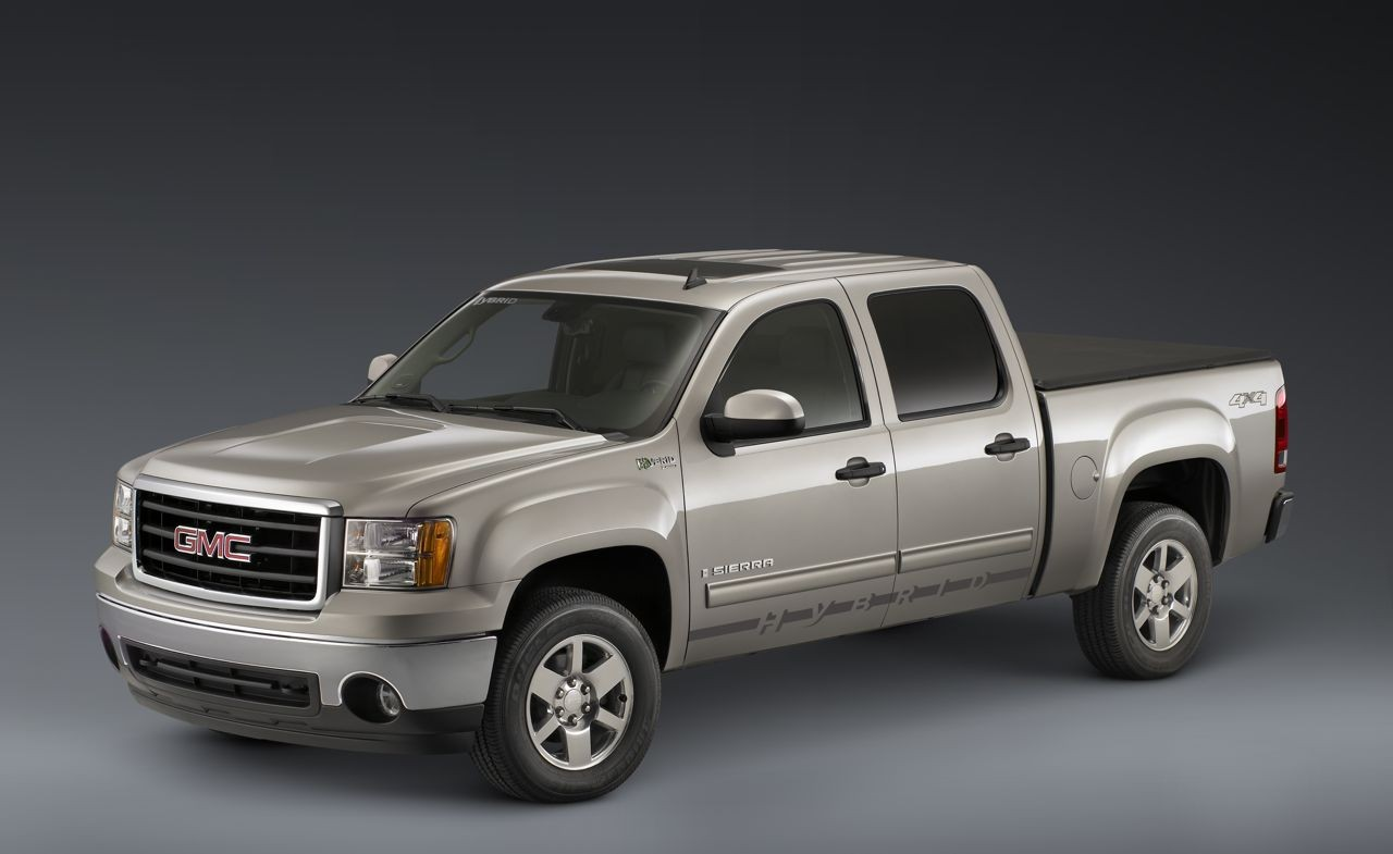 2009 Gmc Sierra 1500 Hybrid Review Ratings Specs Prices And Photos The Car Connection