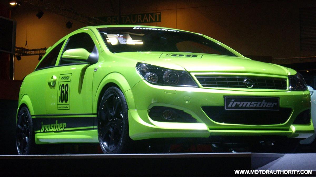 LPG-converted Irmscher Opel Astra GTC Turbo headed to ...