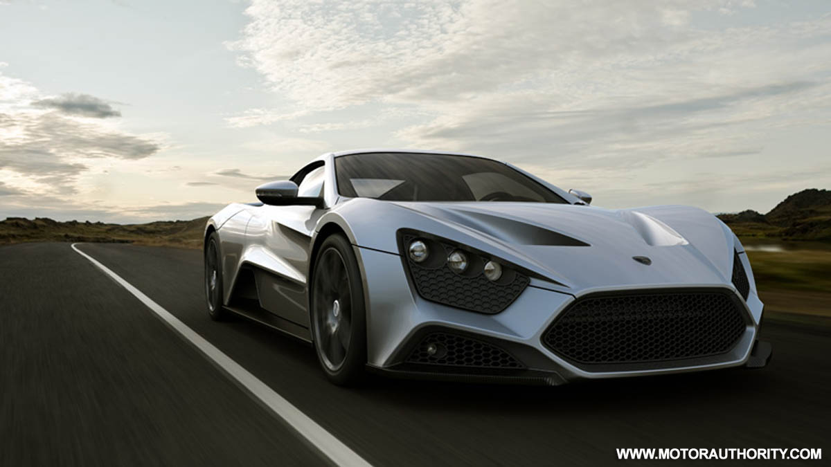 Danish Firm Zenvo Automotive Unveils 1 100 Hp St1 Supercar