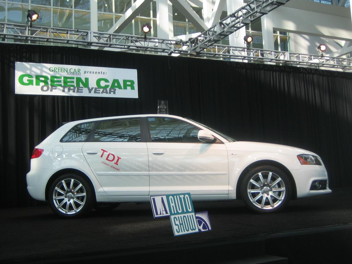 green car of the year 2010 audi a3 tdi. Black Bedroom Furniture Sets. Home Design Ideas